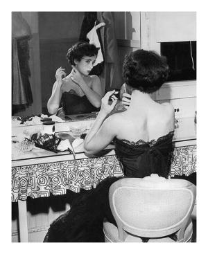 Elizabeth Taylor 1951 behind the Scenes 'A Place in the Sun' by Hollywood Historic Photos