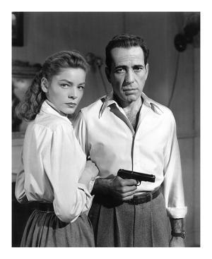Lauren Bacall and Humphrey Bogart in 'Key Largo' 1948 by Hollywood Historic Photos