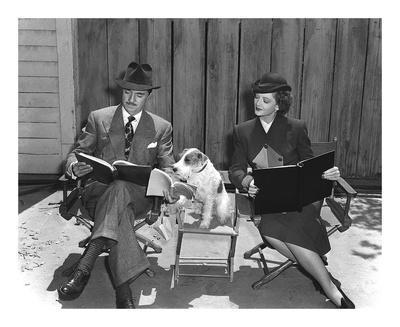 'The Thin Man' William Powell, Myrna Loy & Asta