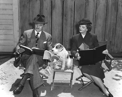 'The Thin Man' William Powell, Myrna Loy & Asta