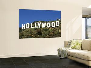 Hollywood Sign at Hollywood Hills, Los Angeles, California, USA