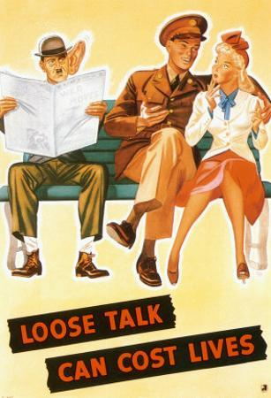 Loose Talk Can Cost Lives by Holmgren