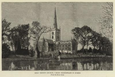 Holy Trinity Church, Where Shakespeare Is Buried