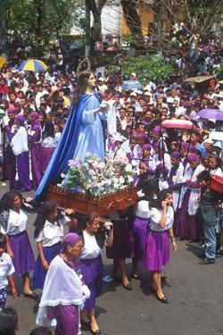 Holy Week, Sonsonate, El Salvador