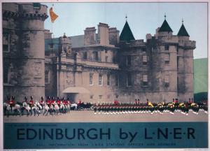 Holyroodhouse, Edinburgh, LNER, c.1930