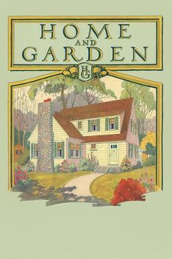 Home and Garden Magazine Cover