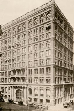 Home Insurance Building on Lasalle and Adams Streets, Chicago, 1890s