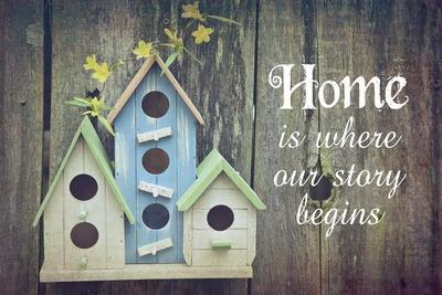 https://imgc.allpostersimages.com/img/posters/home-is-where-our-story-begins-bird-houses_u-L-F92LUS0.jpg?artPerspective=n