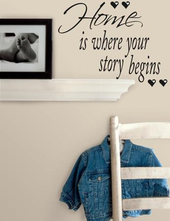 Home is Where Your Story Begins Peel & Stick Quotable