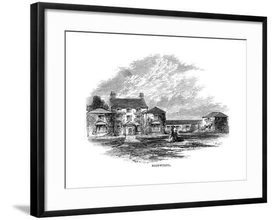 Home of Felicia Hemans--Framed Giclee Print