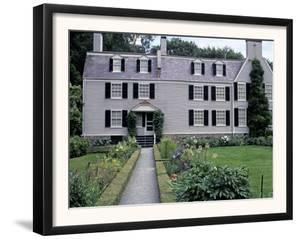 Home of John Adams and His Family, Now a National Historical Park, Quincy, Massachusetts