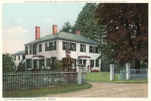 Home of Ralph Waldo Emerson, Concord