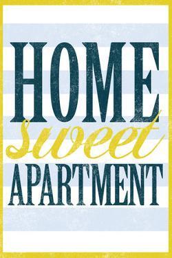 Home Sweet Apartment Retro Plastic Sign