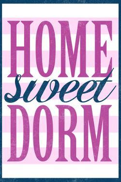 Home Sweet Dorm Retro Plastic Sign