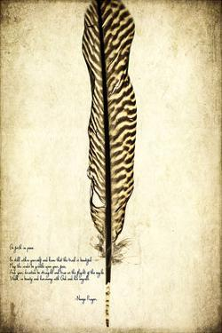 Feather on the Wind V by Honey Malek