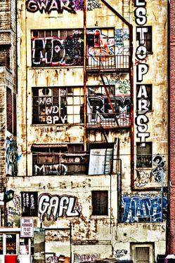 Urban Tags I by Honey Malek