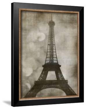 Vintage Eiffel I by Honey Malek