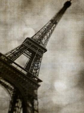 Vintage Eiffel II by Honey Malek