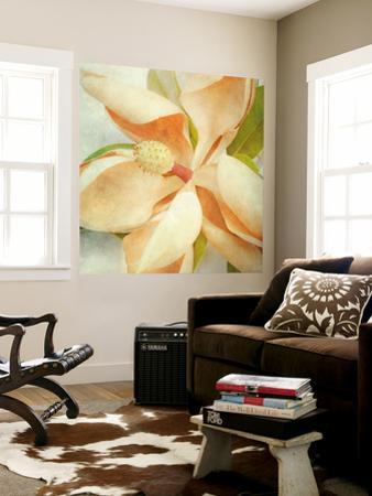 Vintage Magnolia I by Honey Malek