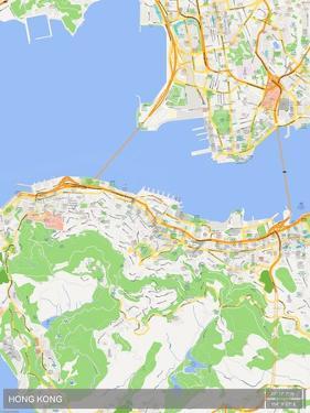 Hong Kong, Hong Kong, Special Administrative Region of China Map
