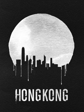 Hong Kong Skyline Black