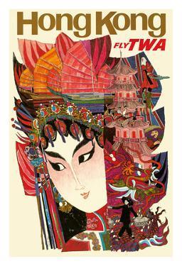 Hong Kong - Trans World Airlines Fly TWA
