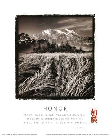 Honor (Tao Te Ching, Mountains & Fields)