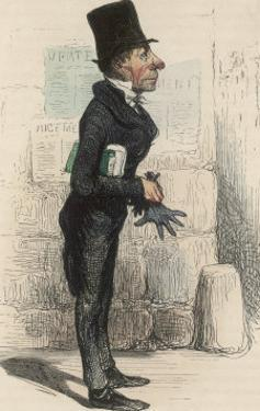 French Public Defender by Honore Daumier
