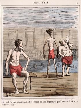 Man, the King of Creation by Honore Daumier