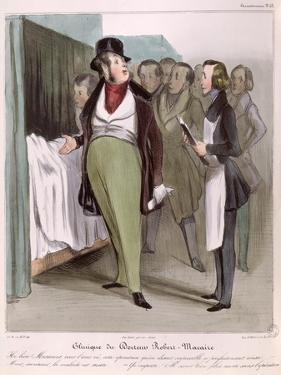 The Clinic of Dr. Robert-Macaire by Honore Daumier