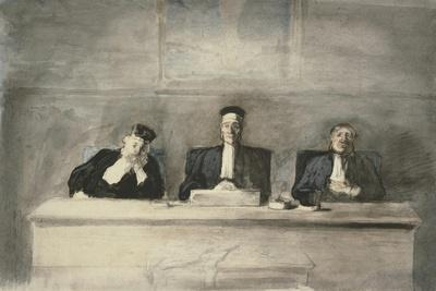 The Three Judges, 1858-60