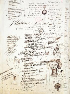 Title Page of 'Les Illusions Perdues', C. 1830-40 by Honore de Balzac