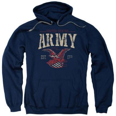 Hoodie: Army - Arch