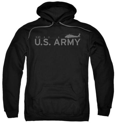 Hoodie: Army - Helicopter