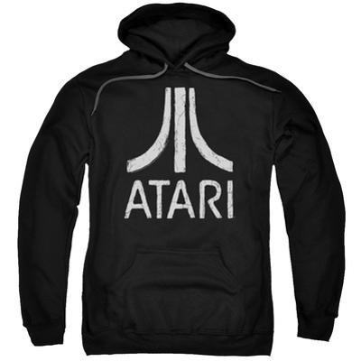 Hoodie: Atari- Distressed Logo