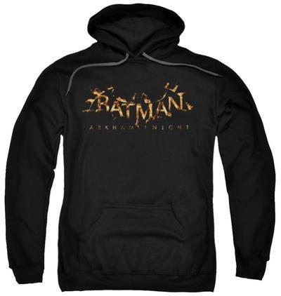 Hoodie: Batman: Arkham Knight - Arkham Knight Flame Logo