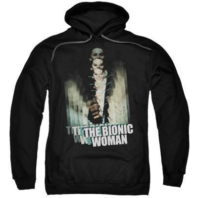 Hoodie: Bionic Woman - Motion Blur