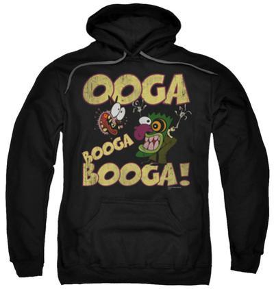 Hoodie: Courage The Cowardly Dog - Ooga Booga Booga