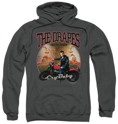 Hoodie: Cry Baby - Drapes