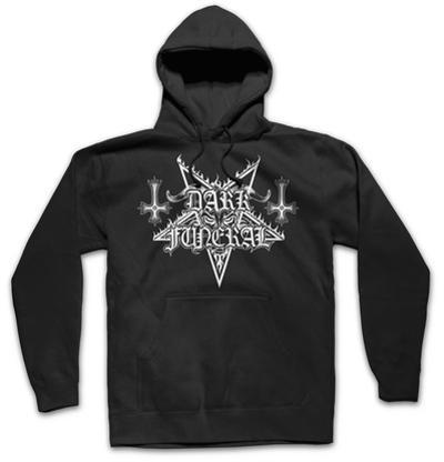 Hoodie: Dark Funeral - Logo