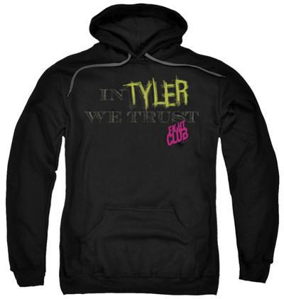 Hoodie: Fight Club - In Tyler We Trust