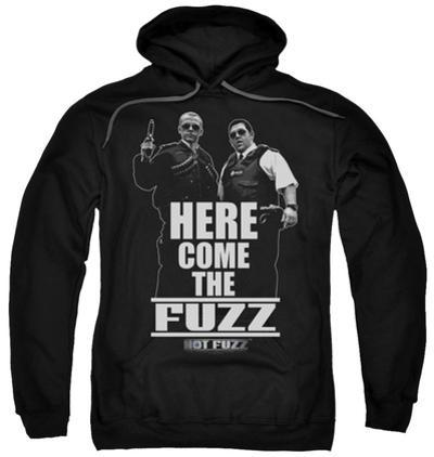 Hoodie: Hot Fuzz - Here Come The Fuzz