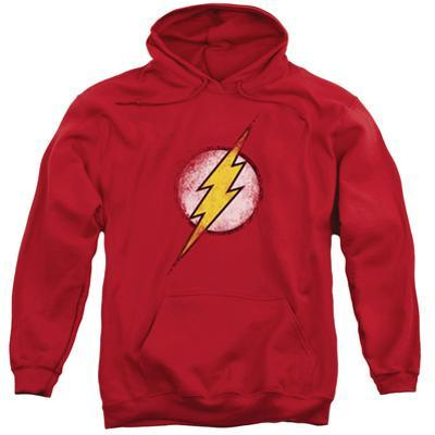 Hoodie: Justice League - Destroyed Flash Logo