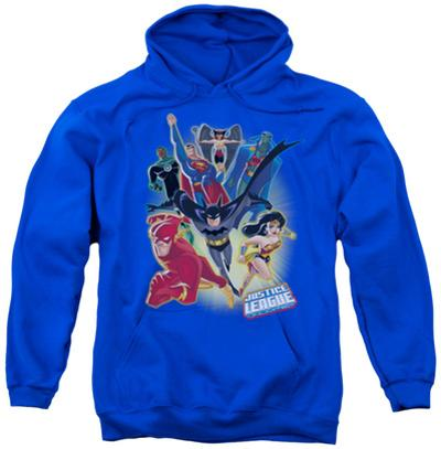 Hoodie: Justice League - Unlimited