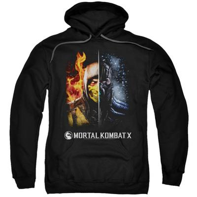 Hoodie: Mortal Kombat- Fire And Ice