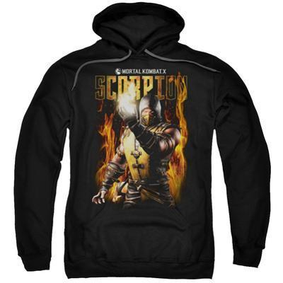 Hoodie: Mortal Kombat- Scorpion Calling Fire