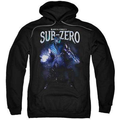 Hoodie: Mortal Kombat- Sub-Zero In Shadows