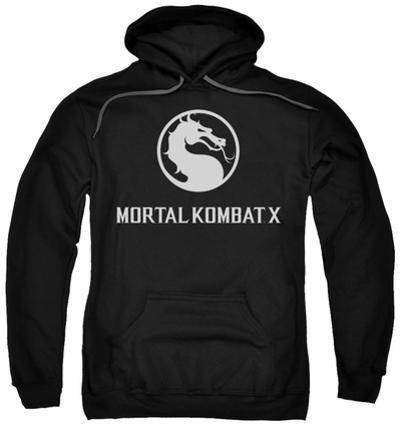 Hoodie: Mortal Kombat X - Dragon Logo
