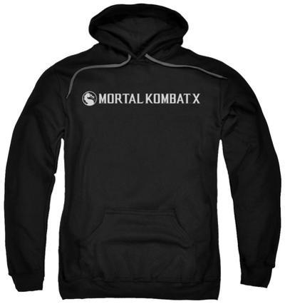 Hoodie: Mortal Kombat X - Horizontal Logo
