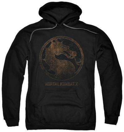 Hoodie: Mortal Kombat X - Metal Seal